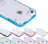 Transparent Glow in Dark Hard Case for iPhone 4/4S (Assorted Colors)