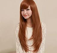 mode des perruques synthétiques or perruque de cheveux
