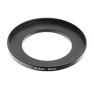 eoscn 40,5 milímetros anel conversão de 58 milímetros