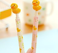 Cute Duck Design Plastic Ballpoint Pens(1pcs)