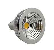 5W GU5.3(MR16) Focos LED 1 COB 400-450LM lm Blanco Cálido Regulable DC 12 V
