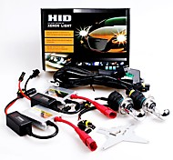 12V 55W H4 High / Low 10000K Slim Aluminum Ballast HID Xenon Headlights Kit