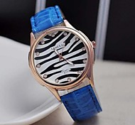 Women's Fashion Trend Zebra Stripe Watches(Assorted Colors)