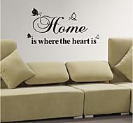 jiubai ™ etiqueta de la pared decoración cotización casa hogar etiqueta de la pared