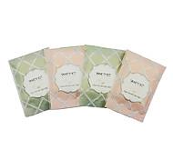 Set Viaje 2pcs hisopos de algodón con 2pcs almohadillas de algodón maquillaje