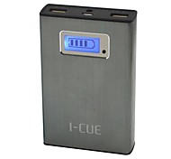 Icue® G13 12000mAh External Battery Gray for iphone6 and Mobile Devices
