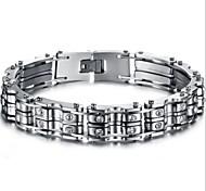 Z&X®  Men's Fashion Personality Generous Titanium Steel Bracelet