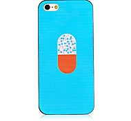 Cartoon Pill Pattern Back Case for iPhone 4/4S