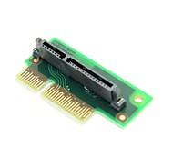 sata 7 + 15 22pin para pci-e x4 expreso pcba adaptador de envío gratis en ángulo de 90 grados