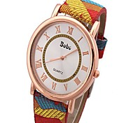 Women's Vintage Canvas Ladies Watch Cool Watches Unique Watches