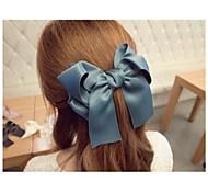 Super Size Bowknot Silk Fabric Hairpins Hair Clips