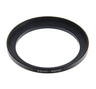 eoscn anillo de conversión de 43 mm a 49 mm