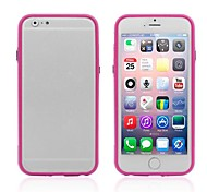 Ultrathin Frame TPU and PC Soft Cover for iPhone 6 (Assorted Colors)