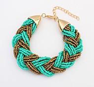 European Style Beaded Bracelet