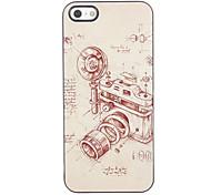 Vintage Camera Design Aluminium Hard Case for iPhone 4/4S