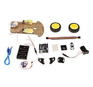 1 generazione di multi-funzione kit per auto robot ultrasuoni per Arduino