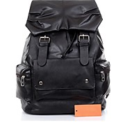 Unisex Students Luggage  PU Backpacks