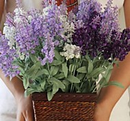 Wire Lavender Artificial Flowers