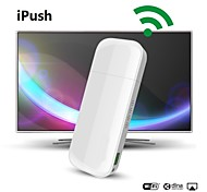 iPush D2 Multi-Media WiFi DLNA AirPlay Показать приемник для IOS Smart Android TV Box палочке Media Player Mini PC HDMI ТВ антенны