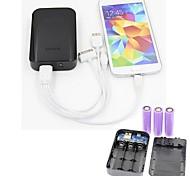 batería externa portátil 8800mAh batería reemplazable para el iphone 5 / 5s samsung s4 / 5 lg htc y otros (colores surtidos)