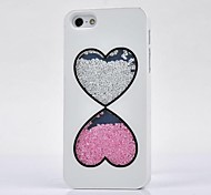 Luxe Rhinestone Cover Case voor iPhone 4 / 4s