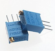 3296 Potentiometer 20kohm Adjustable Resistors - Blue (10 PCS)