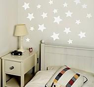 jiubai ™ estrelado arte casa decoração da parede adesivo de parede do decalque