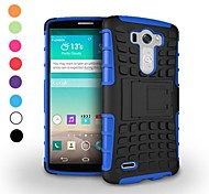 Dual-color Antiskid Detachable 2 in 1 PC and TPU Hybrid Case with Kickstand for LG G3 D850(Assorted Colors)