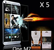 Ultimate Shock Absorption Screen Protector for HTC M7 (5PCS)