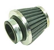 1 peças filtro de ar em aço de 35mm por crf klx ssr bolso sujeira moto atv 49-110cc