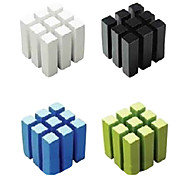 Multifunction 9-Column Cube Style Earphone Cable Cord Holder Wire Winder(Random Color)