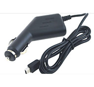 Mini USB Car Cigarette Charger for Cellphone GPS  DVR and Other(Black,100cm)