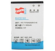 High Capacity 3.7V 3000mAh Li-ion Replacement Battery for HTC T7373 / EVO 4G