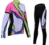 Realtoo® Women's  Cycling Suit (Jersey+Pants) Warmer Autumn And Winter Fleeced