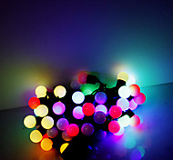 5M 50 LEDs Christmas Halloween decorative lights festive strip lights-RGB lamp beads (220V)