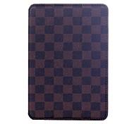 Natusun™ Checkered Pattern PU Leather Case Full Body Case with Auto Sleep and Wake UP  for iPad2/iPad3/iPad4