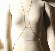 catena bikini donne europee catene corpo in lega d'oro (70 centimetri * 5cm * 5cm) (1 pz)