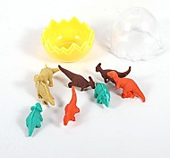 Creative Eggshell Mini Dinosaur Rubber