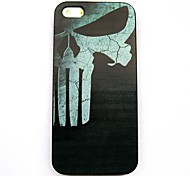 Skull Pattern Hard Case for iPhone 5/5S