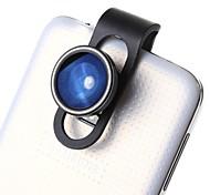 160-180 ° lente lente de ojo de pez de cambio rápido de la cámara para el iphone y otros