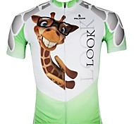 PaladinSport Men's Cycling Jersey Short Sleeves Spring & Summer 100% Polyester Short Sleeved Cycling Jersey