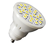 lohas® gu10 3w 210-240lm luz fria / quente branco 24x5050smd lâmpada LED local (ac 110 / 220v)