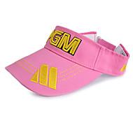 pgm rosa + sombrero amarillo del golf sunproof sin cobertura