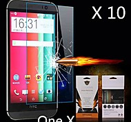 Ultimate Shock Absorption Screen Protector for HTC ONE X (10PCS)