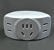 Multifunctional White Socket Converter 1 Converted 3