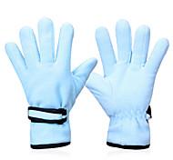Glove Cycling / Bike All / Men's Full-finger Gloves Windproof / Keep Warm Winter Light Blue / Others L - INBIKE