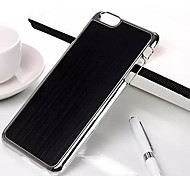 Brushed Metal Case Cover for iPhone 6 Plus (Assorted Colors)