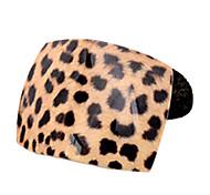 Fashion Pantherine Square Shape Hair Ties Random Color