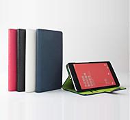 venda de 100% caso de couro da aleta de couro pu quente para o arroz vermelho nota do smartphone 4 cores