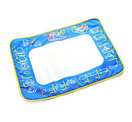 50*70*2cm Kids' Aquadoodle Water Drawing Board Magic Pen Novelty Toys with Paintings of Bus(Box Package)